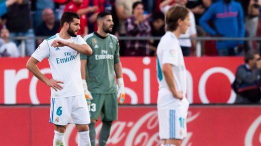 El Madrid de Zidane, de la gloria al fracaso en Liga en apenas dos meses