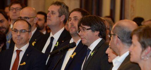 La Fiscalía pide prisión incondicional para Junqueras y el resto del Govern cesado, excepto Santi Vila