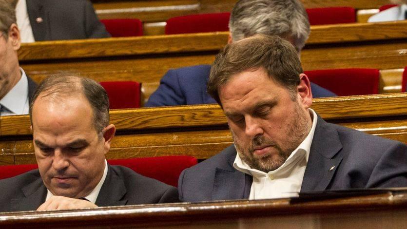 Prisión incondicional para Junqueras y 7 ex consejeros del Govern cesado