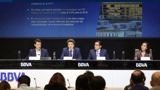 BBVA Research modera las previsiones de crecimiento y creación de empleo por la incertidumbre