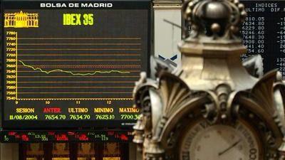 Cuarta caída consecutiva para el Ibex, incapaz de olvidar el asunto catalán