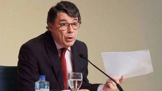 Ignacio González abona los 400.000 euros de fianza para salir de prisión