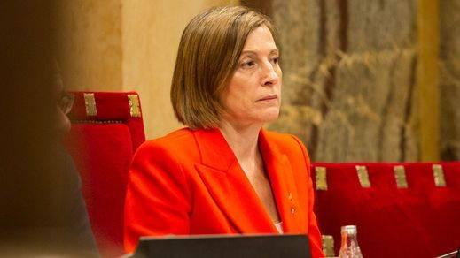 Forcadell traiciona a la causa soberanista y se doblega al artículo 155 para evitar la cárcel