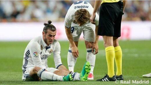 Twitter se ensaña con Bale, que vuelve a estar lesionado