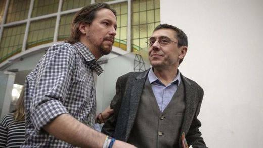 Acusan a Iglesias y Monedero de fundar Podemos