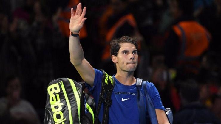 Nadal, con molestias, pierde con Goffin y acaba su Masters y la temporada