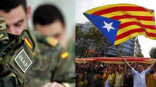La Generalitat barajaba implantar la 'mili' en la República Catalana