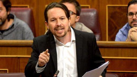 Tensión en el Congreso: Pablo Iglesias llamó