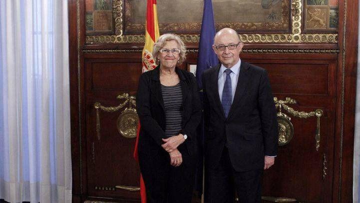 Manuela Carmena y Cristóbal Montoro