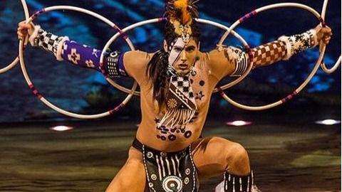 'Totem', obra de Cirque du Soleil