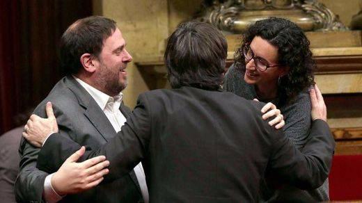 Elecciones en Cataluña: el independentismo baraja un Govern 'bicéfalo' tras el 21-D