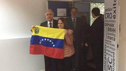 Ledezma rechaza la condición de preso huido y asegura que le ayudaron a salir de Venezuela chavistas y militares