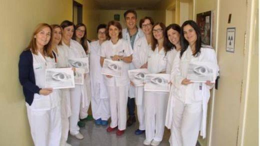 El equipo de Enfermería del Hospital Mancha Centro, premio nacional por un estudio sobre la curvatura corneal