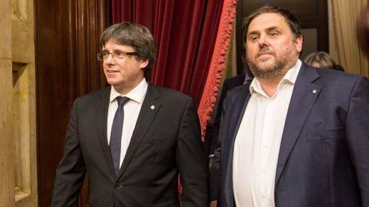 Los 9 puntos que barajan llevar Junts per Catalunya y ERC como elementos comunes el 21-D