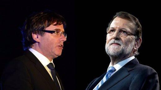 Puigdemont invita a Rajoy a reunirse en su 'sede', Bruselas, para hablar de igual a igual sobre el futuro de Cataluña