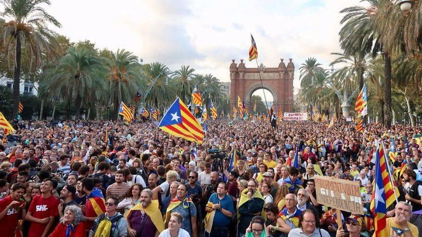 Sólo el 24% de los catalanes quiere seguir con el procés soberanista