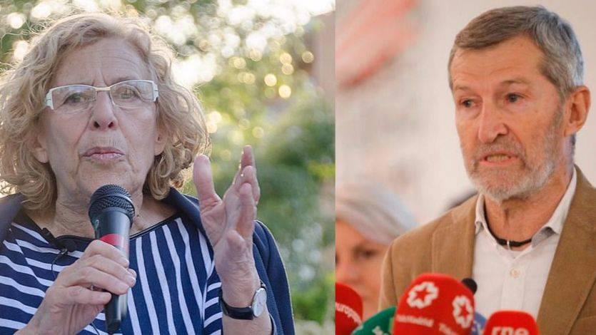 Manuela Carmena y Julio Rodríguez