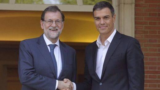 Rajoy deja tirado al PSOE y sólo acepta
