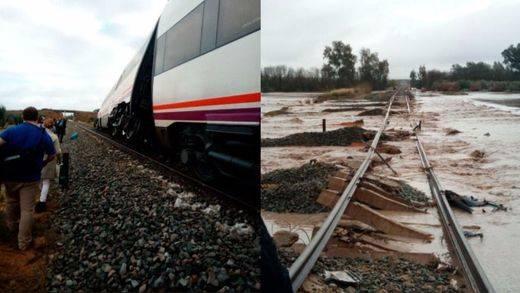 35 heridos leves y 2 graves al descarrilar un tren en el trayecto Málaga-Sevilla