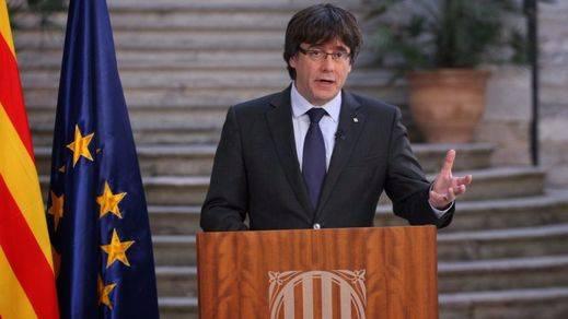 Puigdemont pretende hacer campaña en Cataluña y no descarta llevar la unilateralidad en su programa
