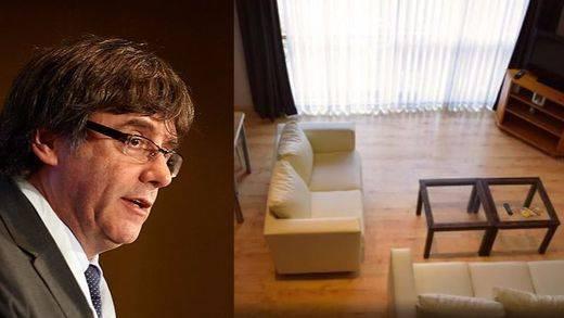 Así es el refugio en el 'exilio' de Puigdemont