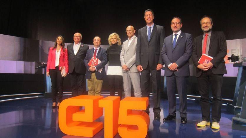 El debate electoral de TV3, cita clave de cara a las elecciones catalanas del 21-D