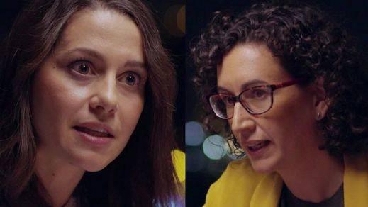 Así fue el Arrimadas vs. Rovira: el debate-pelea entre las dos grandes candidatas de las elecciones catalanas