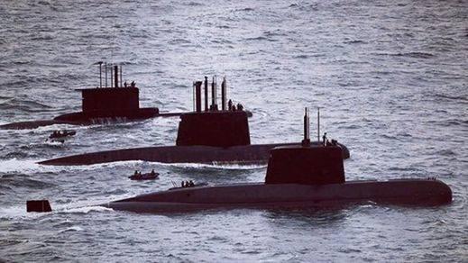El submarino argentino