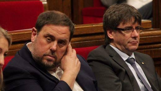 Junqueras es el único líder que 'aprueba', pero el president preferido es Puigdemont