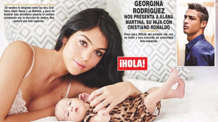 Georgina Rodríguez revela lo que le dijo Ronaldo mientras daba a luz a su hija