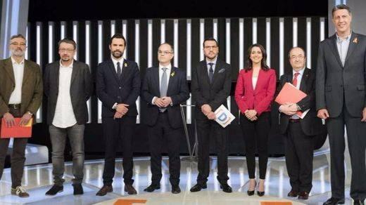 Elecciones en Cataluña: así fue el primer debate bronco de la campaña