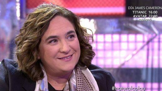 Ada Colau en 'Sálvame Deluxe', sorpresas homosexuales que da la política