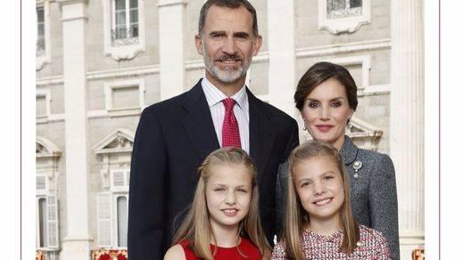 Felicitación navideña de la familia real