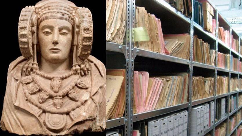 Dama de Elche y archivo de Salamanca