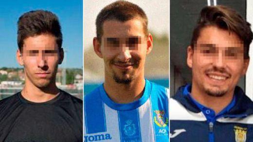 Los 3 jugadores de la Arandina acusados de violar a una menor, a prisión sin fianza