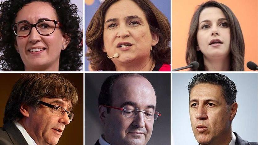Lluvia de encuestas de las elecciones catalanas y 2 conclusiones: Ciudadanos puede dar la campanada pero formar gobierno será casi imposible