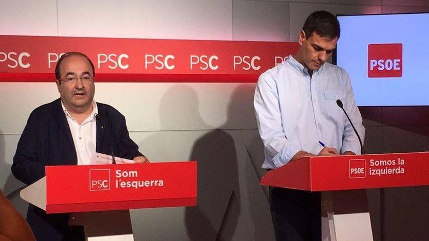 El PSOE se negará a respaldar la propuesta de Iceta para indultar a los independentistas presos