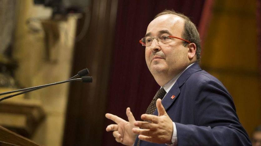 Iceta sólo ve dos opciones: ser presidente de la Generalitat o que lo sea un independentista