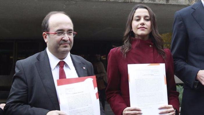 Ciudadanos y PSC pugnan en la recta final de campaña por el voto constitucionalista con el PP hundido