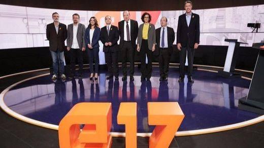 El último debate electoral catalán dejó claro que será casi imposible lograr un pacto por cualquier lado