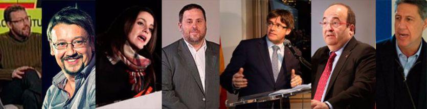 Candidatos a las elecciones de Cataluña