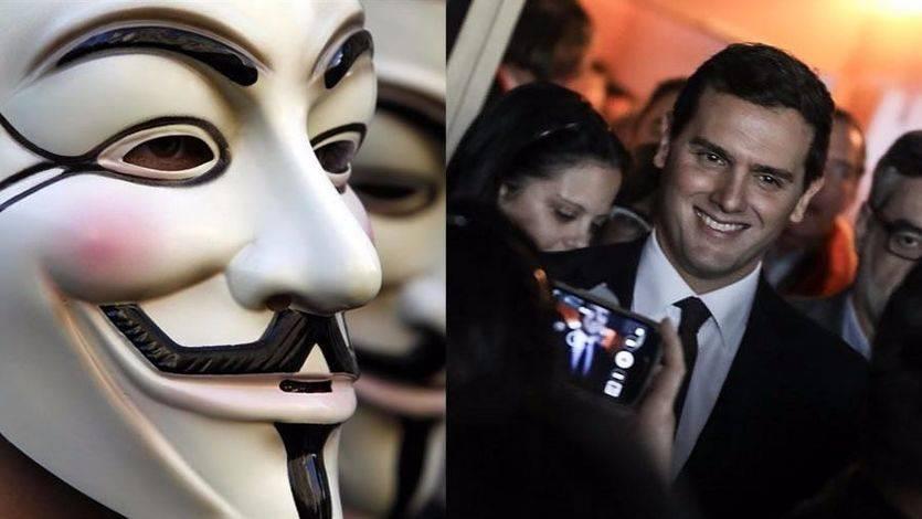 Anonymous España se desvincula de las acusaciones a Ciudadanos difundidas desde una cuenta con el nombre de este colectivo