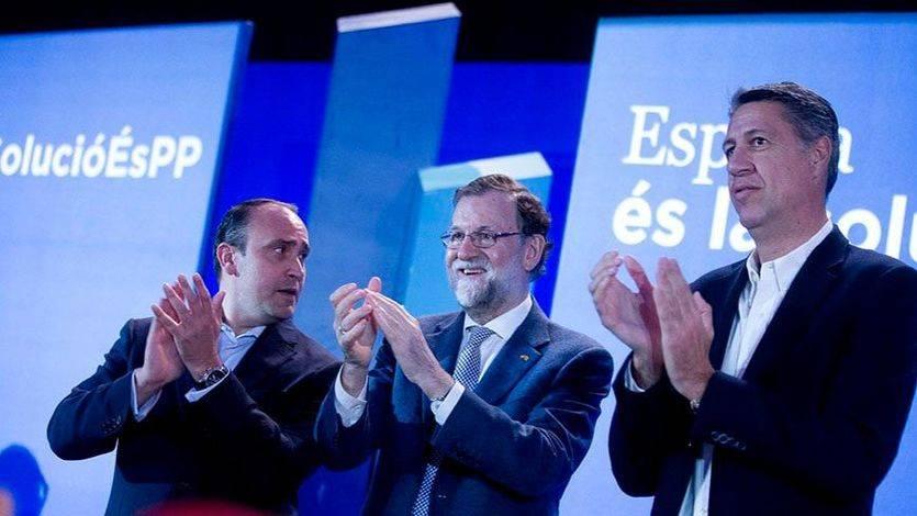 Rajoy intentó rescatar a Albiol y al PP catalán de la debacle electoral el 21-D
