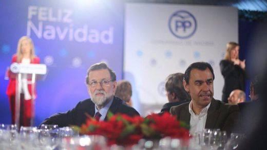El amenazante mensaje de Rajoy en la cena de navidad del PP