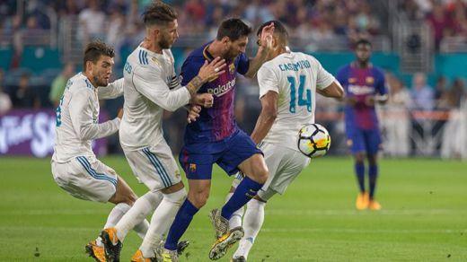 Despliegue tecnológico para el Clásico Madrid-Barça: se retransmite en 4K