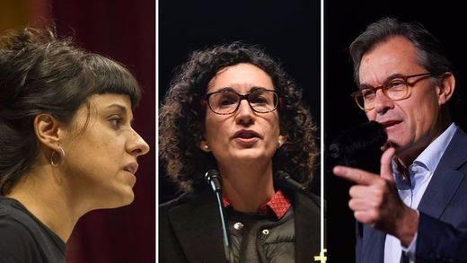 El juez Llarena reparte los otros 'premios': Marta Rovira, Artur Mas o Anna Gabriel, entre los nuevos imputados por el procés soberanista