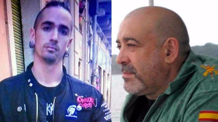 Matar por razón de odio y los tirantes con la bandera de España