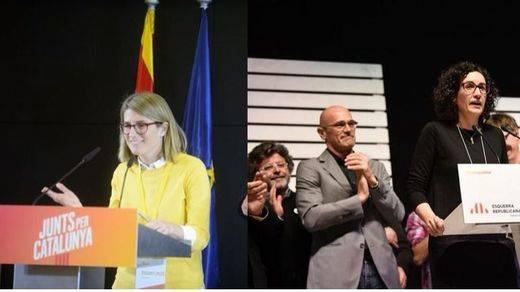 El nuevo Govern catalán, en manos de Elsa Artadi y Marta Rovira