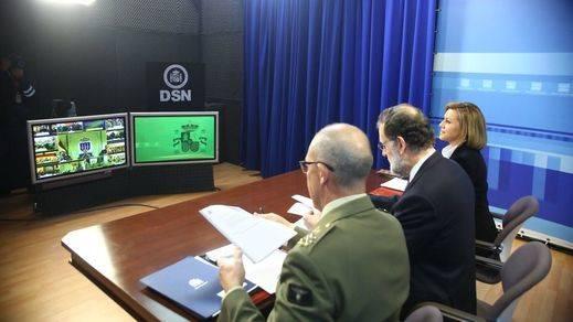 Rajoy, a las tropas en el extranjero: