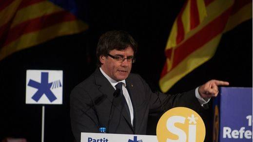 Puigdemont se equipara con Macià y carga contra el